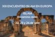 Programa del XIII Encuentro Islam en Europa
