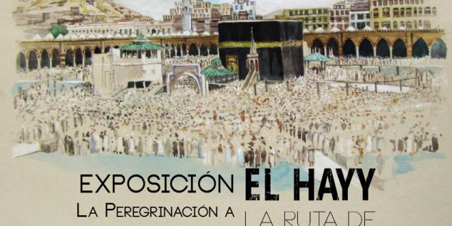 Exposición: El Hayy, la ruta de poniente. Del pintor Rojas Al-Andalusí