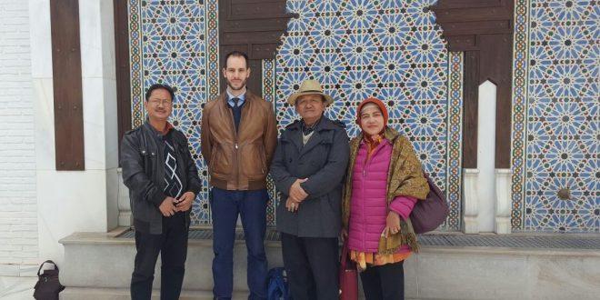 Visita de delegación indonesia a la Mezquita