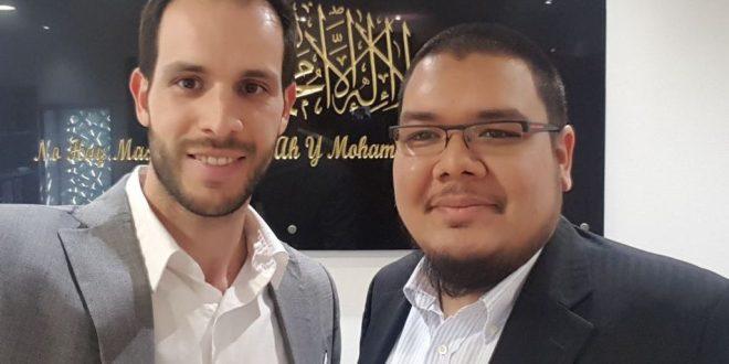 Reunión en la Mezquita M-30 de Madrid