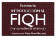 Seminario: Introducción al Fiqh