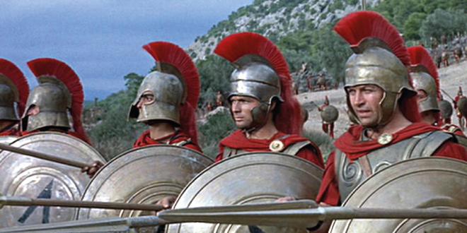 Proyección: El León de Esparta